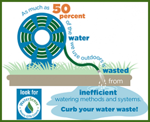 Save water with a high efficiency watering wand